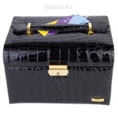Черная шкатулка для украшений Guanya