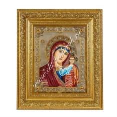 Икона Казанская Богоматерь. Златоуст