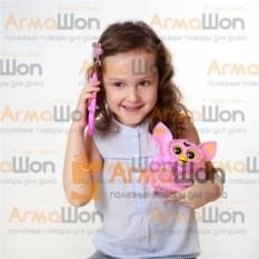 Интерактивная игрушка с телефоном Розовый Furby Пикси 2