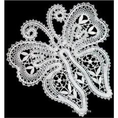 Сувенир Бабочка (вологодское кружево)