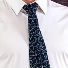 Креативный галстук Химия