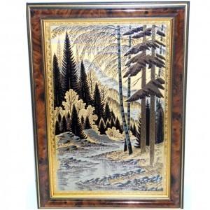 Золотая гравюра Безымянный ручей
