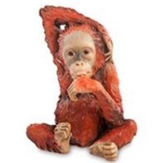 Декоративная статуэтка Детеныш орангутанга
