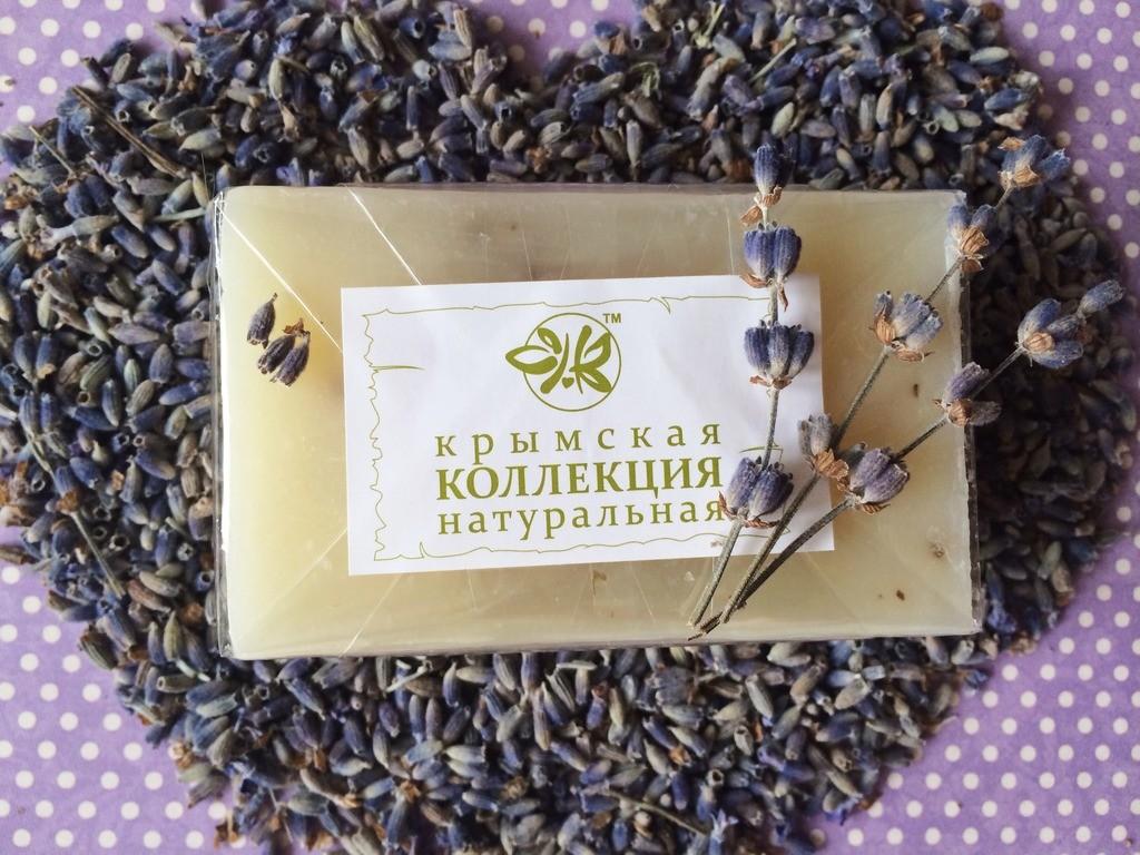Натуральное Крымское мыло Лаванда