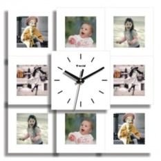 Настенные часы-фоторамка Счастливый случай