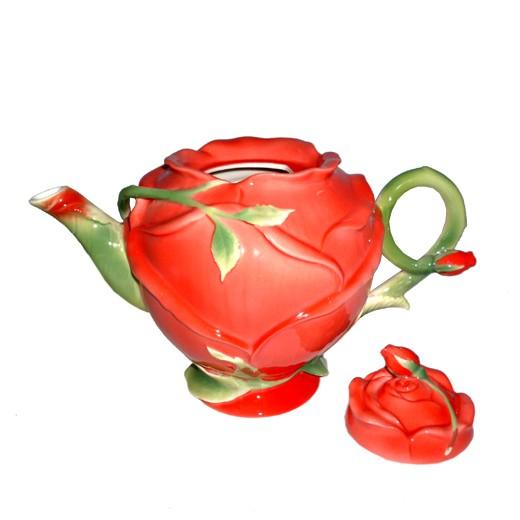 Чайник заварочный Бутон розы