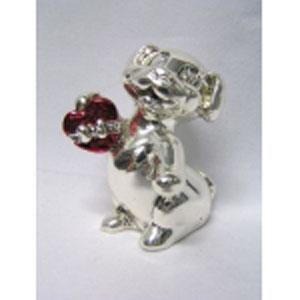 Сувенир «Собачка с сердцем»