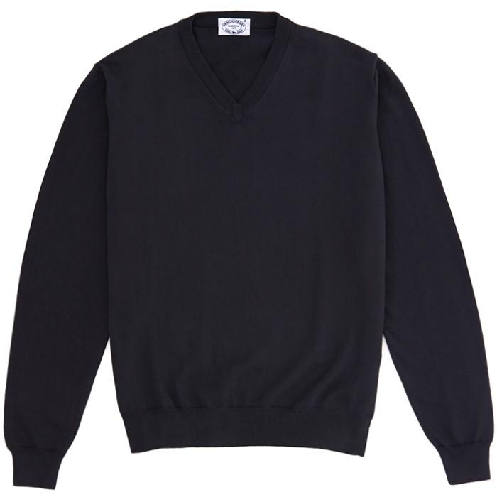 Пуловер из хлопка Gents Stuff by Harridge, серый