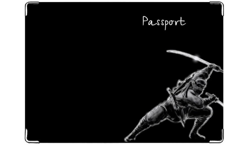 Обложка на паспорт Ниндзя