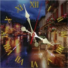 Часы с кристаллами Swarovski Ночное кафе