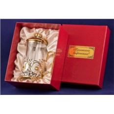 Френч-пресс латунь Кофе (серебро, золото)