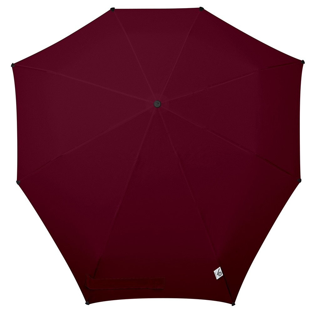 Зонт-автомат senz college burgundy