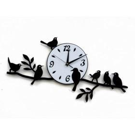 Часы настенные Весенние птицы
