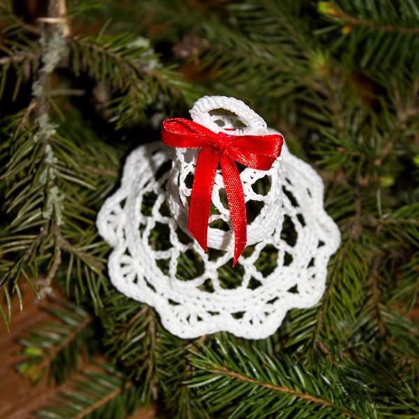 Новогоднее украшение Волшебный колокольчик