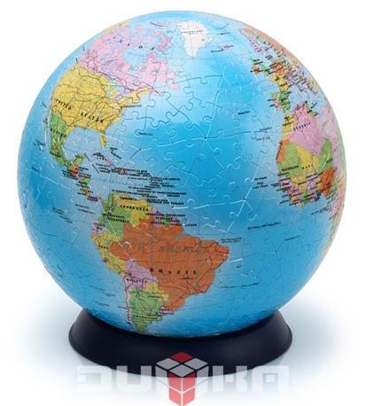 Средний шаровый пазл Глобус