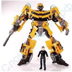 Игрушка робот трансформер Бамблби (Шершень)
