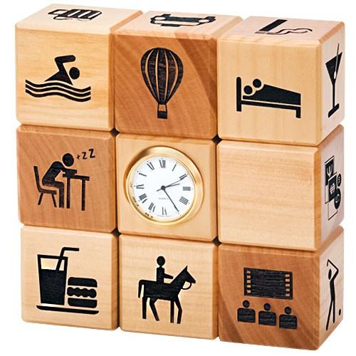 Часы-планировщик «Органайзер в кубе»