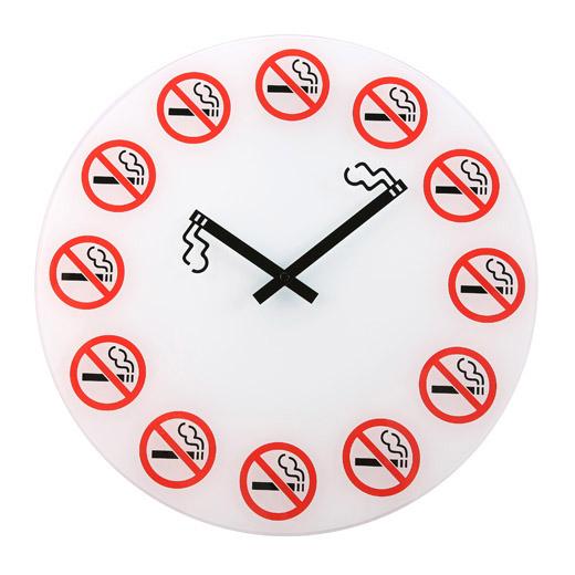 Часы «Здесь не курят»