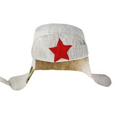 Банная шапка Ушанка