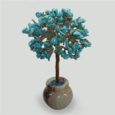 Дерево из бирюзы Мин