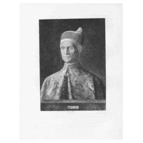Гравюра «Портрет дожа Леонардо Лоредано»