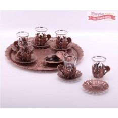 Чайный сервиз на 6 персон Медный век