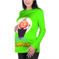 Женский лонгслив 3D для беременных Pumpkin Halloween