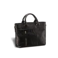 Деловая черная сумка Brialdi Caserta