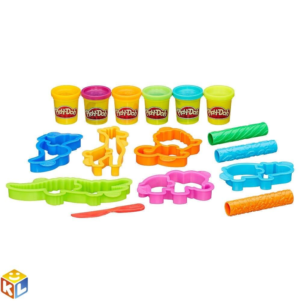 Набор с пластилином Play Doh Веселое сафари от Hasbro