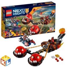 Конструктор Lego Nexo Knights Безумная колесница укротителя