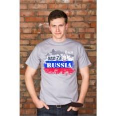 Мужская футболка с вашим текстом Патриот