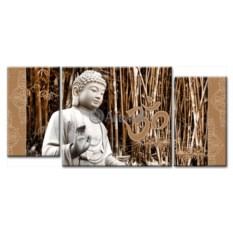 Модульная картина «Будда» 65×30 см