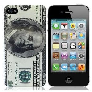Чехол для iPhone 4/4S Денежный
