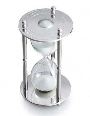 Песочные часы tempus fugit «время летит»