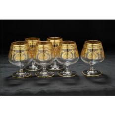 Набор хрустальных бокалов для бренди Классика