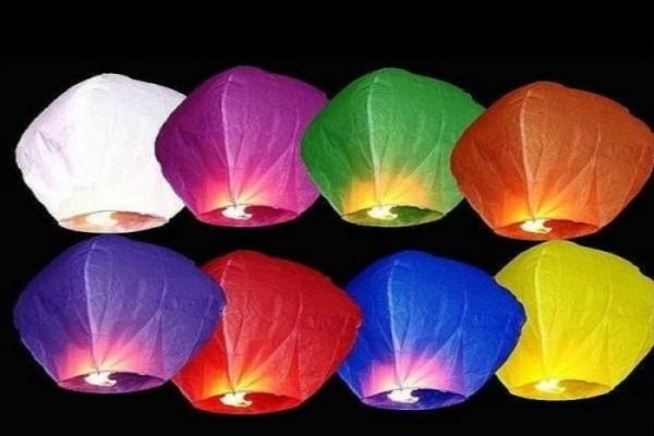 Китайские небесные фонарики Бриллиант