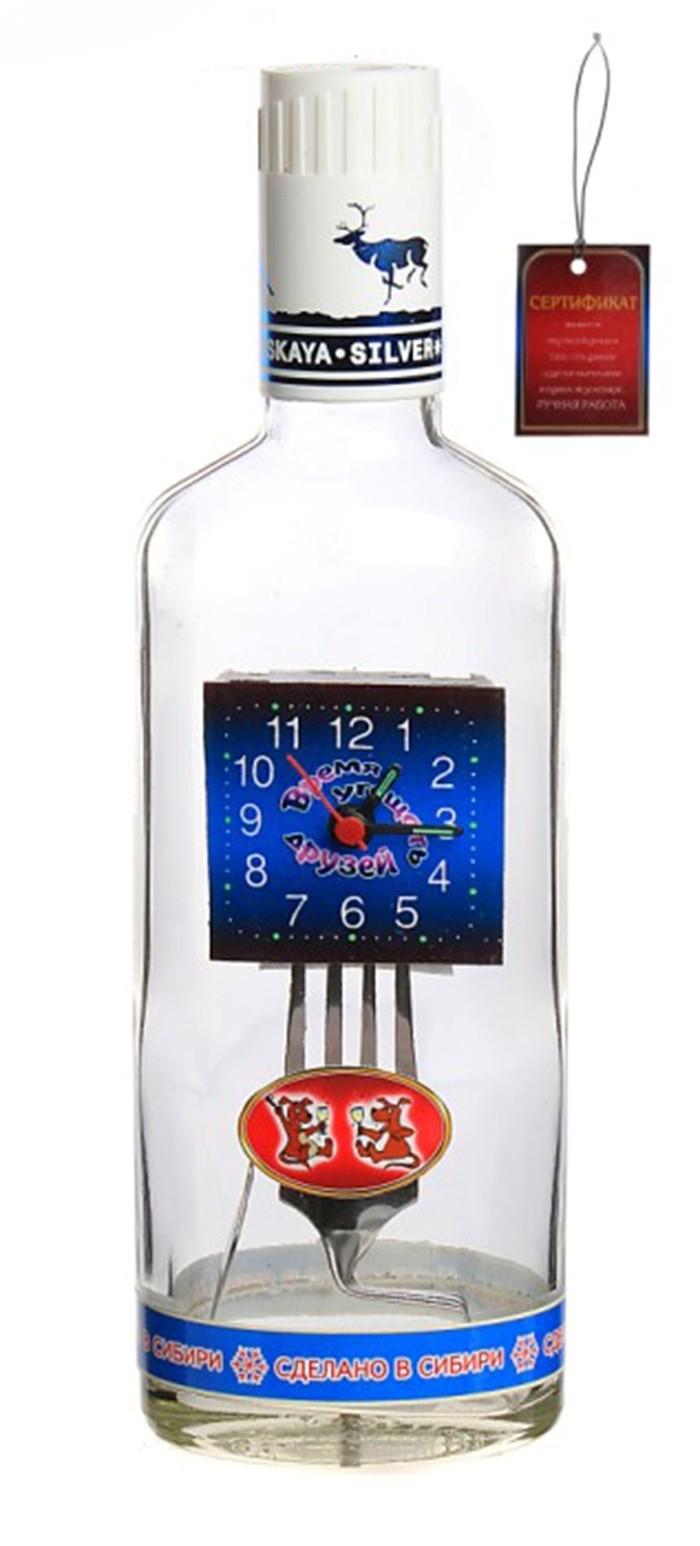 Часы-бутылка Время угощать друзей