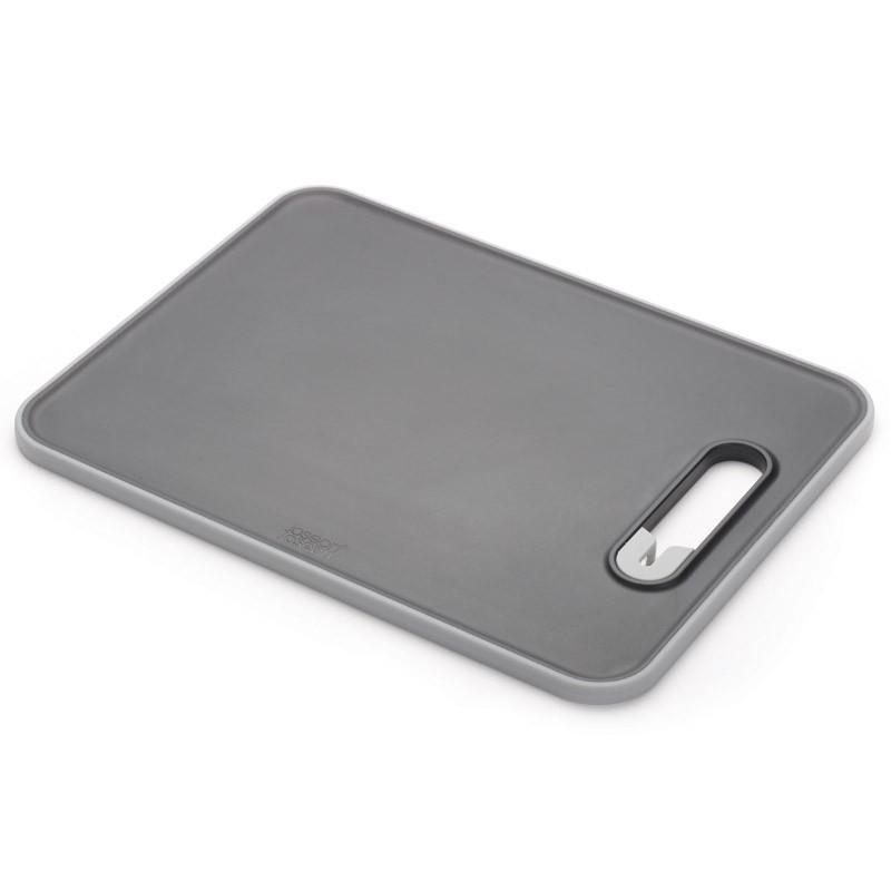 Доска разделочная с ножеточкой Slice & Sharpen™, черная
