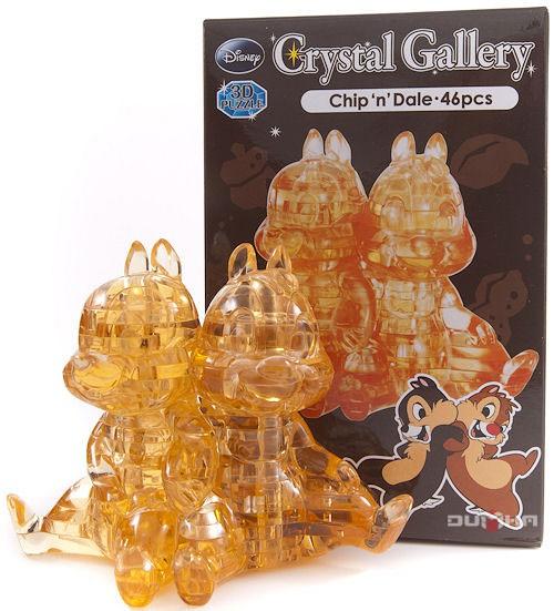 3D головоломка Чип и Дейл, коричневый