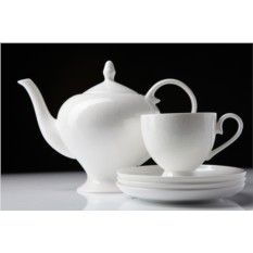 Фарфоровый чайный сервиз на 15 предметов Облака