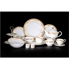 Столово-чайный фарфоровый сервиз на 12 персон Версаль