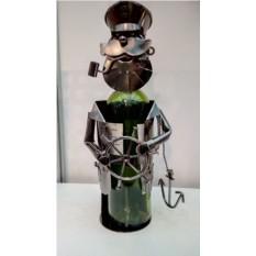 Декор бутылки из металла Капитан