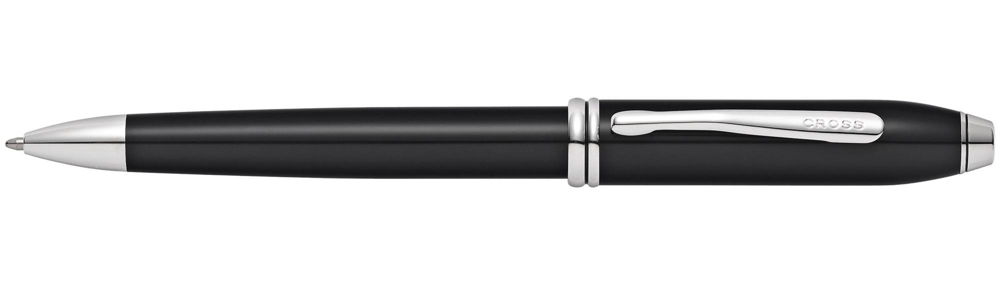 Шариковая ручка Cross Townsend Black Lacquer RP