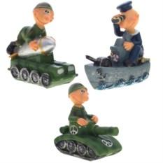 Декоративная фигурка Солдат в танке