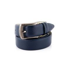 Синий мужской кожаный ремень G.Ferretti тип 941129
