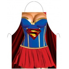 Прикольный фартук Супер-женщина