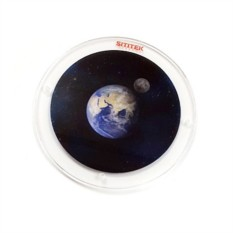 Проекционный диск Звездное небо с Землей и Луной