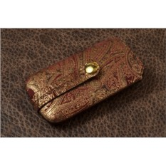 Ключница. Коллекция Colosseo (бордовый)