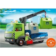 Конструктор Playmobil Грузовик для перевозки стекл. тары