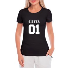 Женская футболка Sister